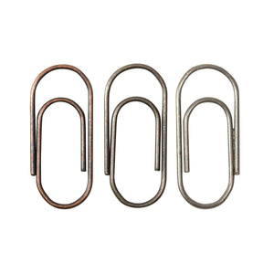 Tim Holtz Metals - Mini Paper Clips (48 Pieces)