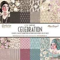 "Maja Designs Paper Pack 12"" x 12"" - Celebration"