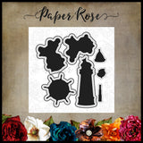 Paper Rose Die set - Monkey Love