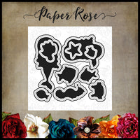 Paper Rose Die set - Mermaid Magic