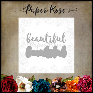 Paper Rose Die set - Beautiful Layered