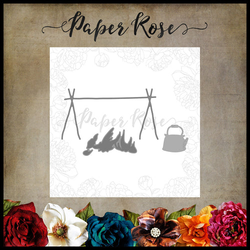 Paper Rose Die - Campfire with Billy