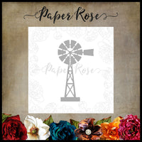 Paper Rose Die - Windmill Small