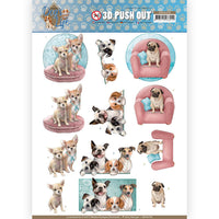 Amy Design Decoupage - All Kinds of Dogs