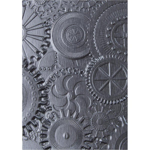 Tim Holtz Embossing Folder -  Mechanics 3D