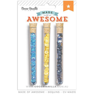 Cocoa Vanilla Sequins - Made Of Awesome
