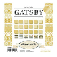"Ultimate Crafts Paper Pad 6"" x 6"" - Gatsby"