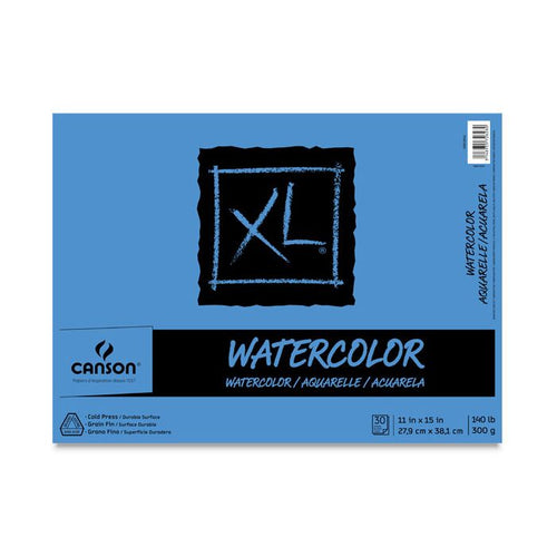 "Canson Watercolor Pad - 11"" x 15"" 140lb"