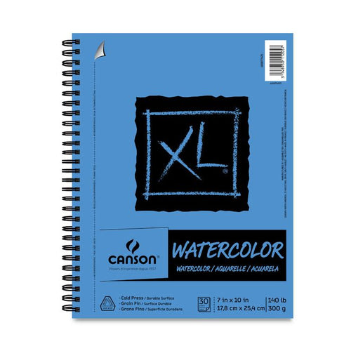 "Canson Watercolor Pad - 7"" x 10""  Bound 140lb"