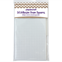 Papercraft Foam Squares - 6mm