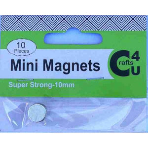 Crafts4U Magnets - Mini 10mm