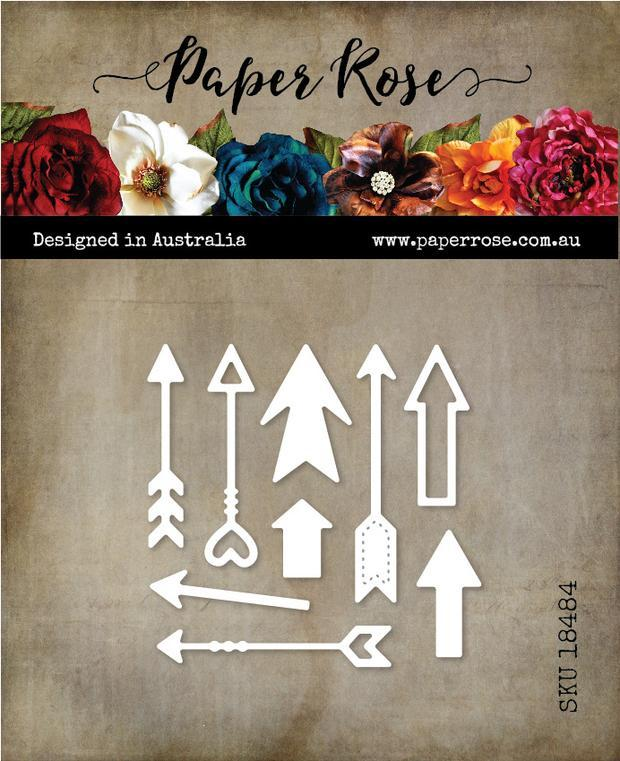 Paper Rose Die set - Arrows