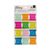 AC Bible Sticker Tabs - Bible Journaling Hallelujah