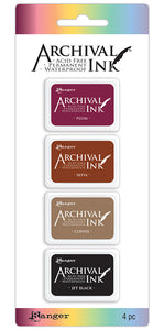 Ranger Ink - Archival Set of 4