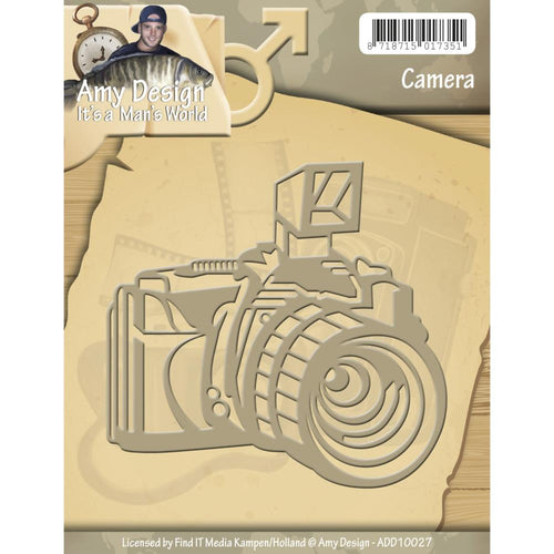 Amy Design Die Set - Camera