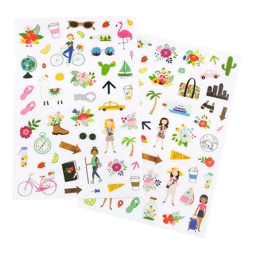 Jen Hadfield Stickers - Chasing Adventures