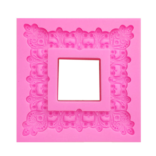 Silicone Mold - Beaded Frame