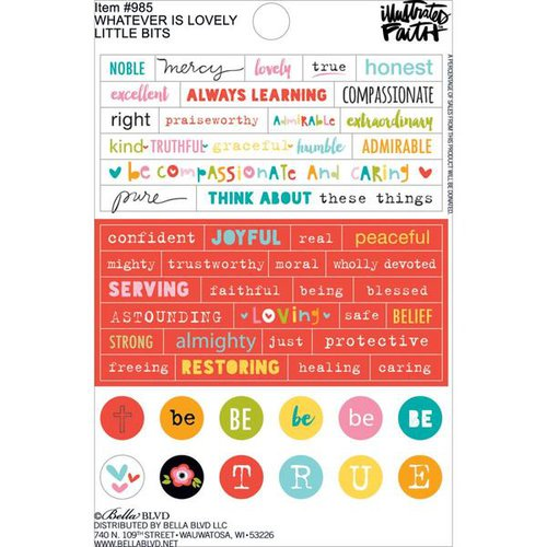 Bella Blvd Stickers - Whatever is Lovely Little Bits