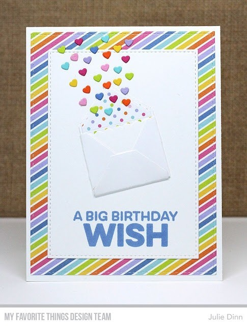 My Favorite Things Big Birthday Wishes Stamps