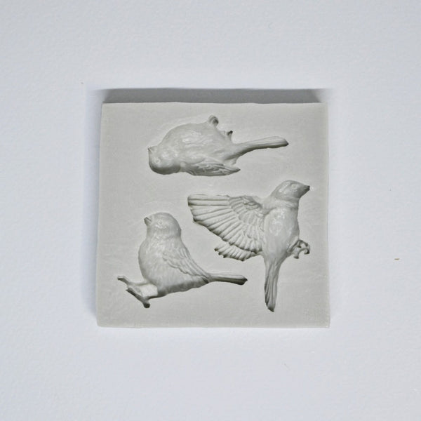 Silicone Mold - Birds