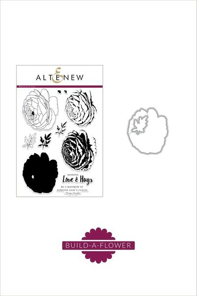 Altenew Build A Flower set - Chrysanthemum