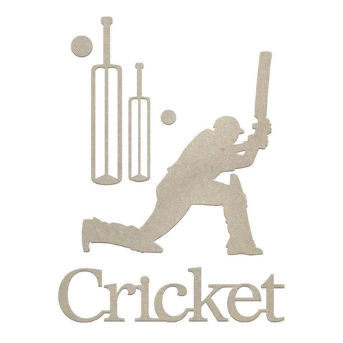 Couture Chipboard - Cricket
