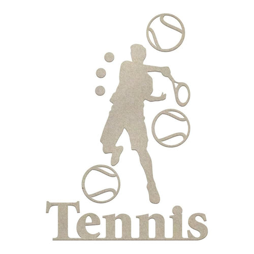 Couture Chipboard set - Tennis