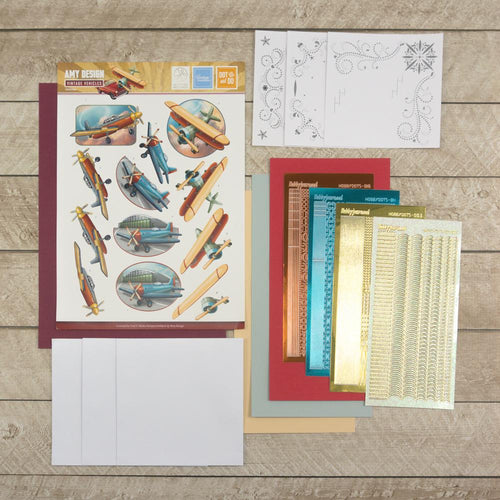 Amy Designs Decoupage Pack - Airplanes 2