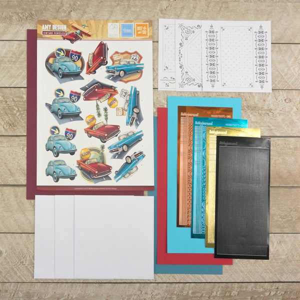 Amy Designs Decoupage Pack - Cars 2