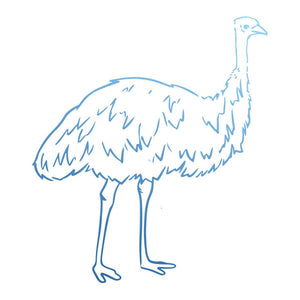 Couture Stamp Mini - Emu