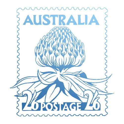 Couture Stamp Mini - Warratah Postage Stamp