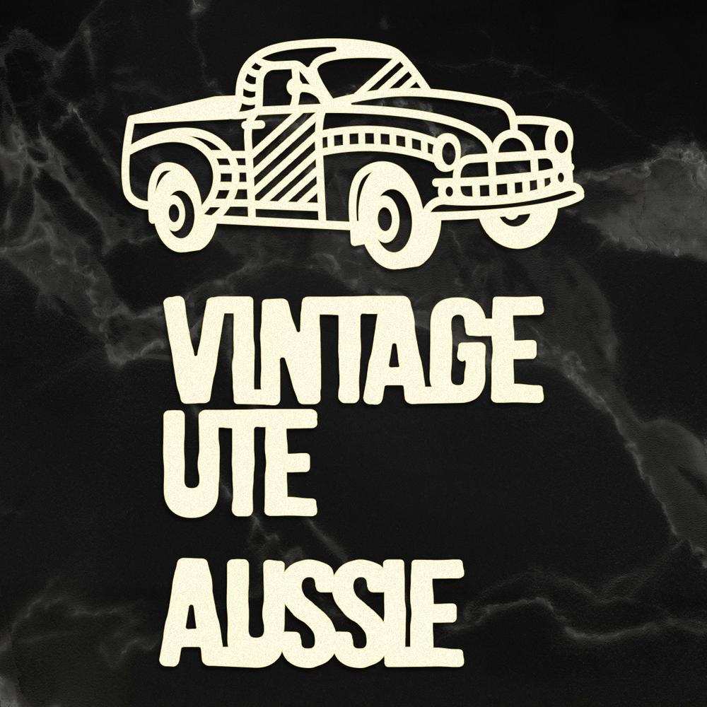 Couture Chipboard - Vintage Ute