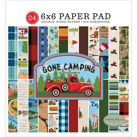 Carta Bella 12x12 Collection Kit - Gone Camping