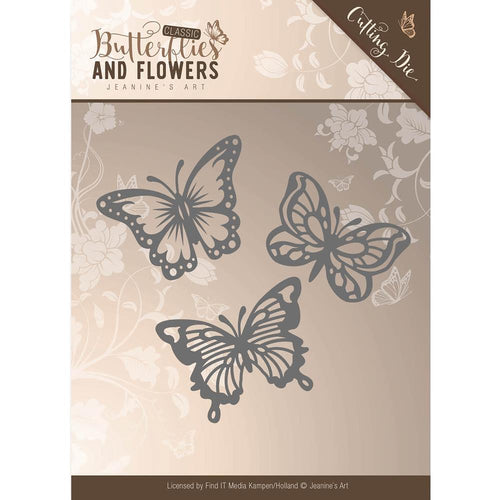 Find It Trading Jeanines Art Classic Butterflies & Flowers - Butterflies