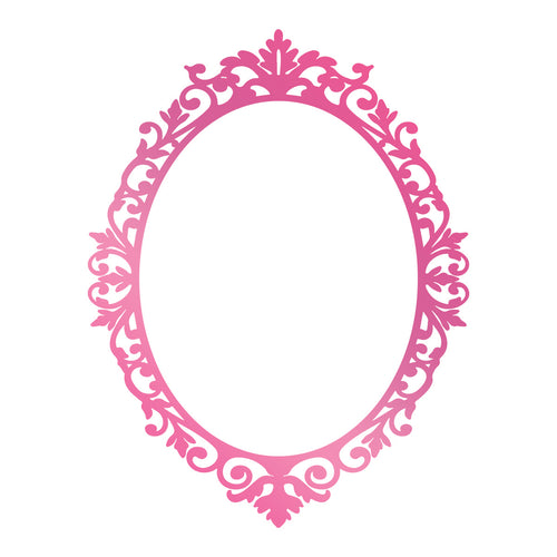 Couture Hotfoil Stamp - Cameo Frame