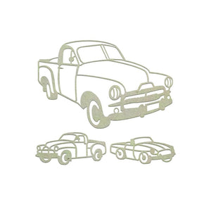 Couture Chipboard Set - Aussie Vehicles