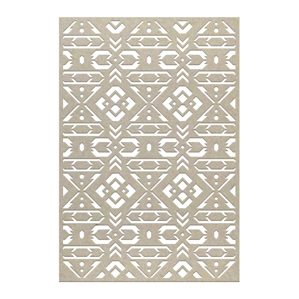 Couture Chipboard - Fletching Background