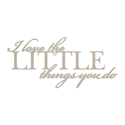 Couture Chipboard - The Little Things
