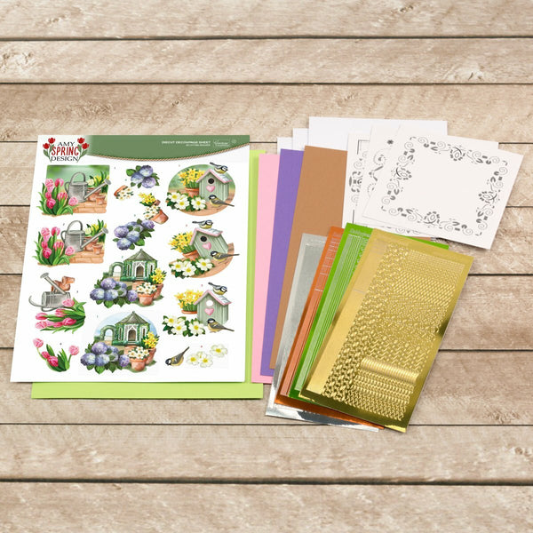 Amy Designs Decoupage Pack - Spring Garden