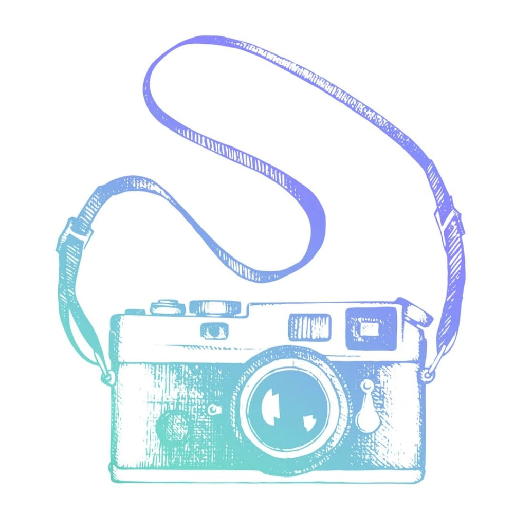 Couture Stamp mini - Vintage Camera
