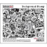 Darkroom Door Stamp Background - Postage Stamp
