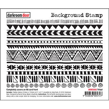 Darkroom Door Background Stamp Tribal