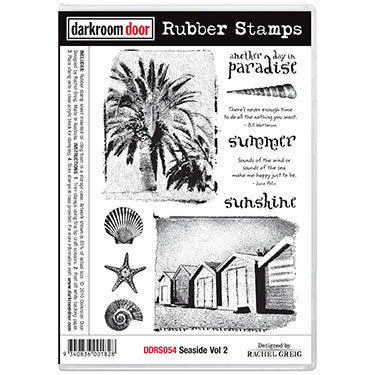 Darkroom Door Stamp Border - Bunting