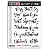 Darkroom Door Stamp set - Brushed Sentiments