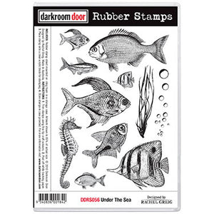 Darkroom Door Stamp set - Under The Sea