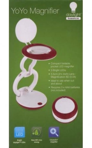 Daylight Basics Lamp - YoYo Magnifier
