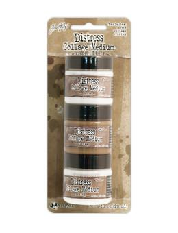 Tim Holtz Distress - Collage Medium Sampler 3pk