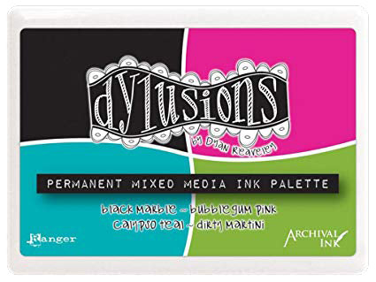 Dylusions Mixed Media Palette