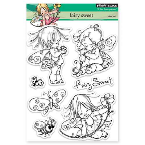 Penny Black Stamp set - Fairy Sweet