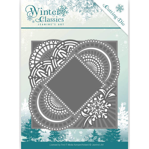 Find It Trading Jeanine Art Winter Classic Die - Mirror Frame